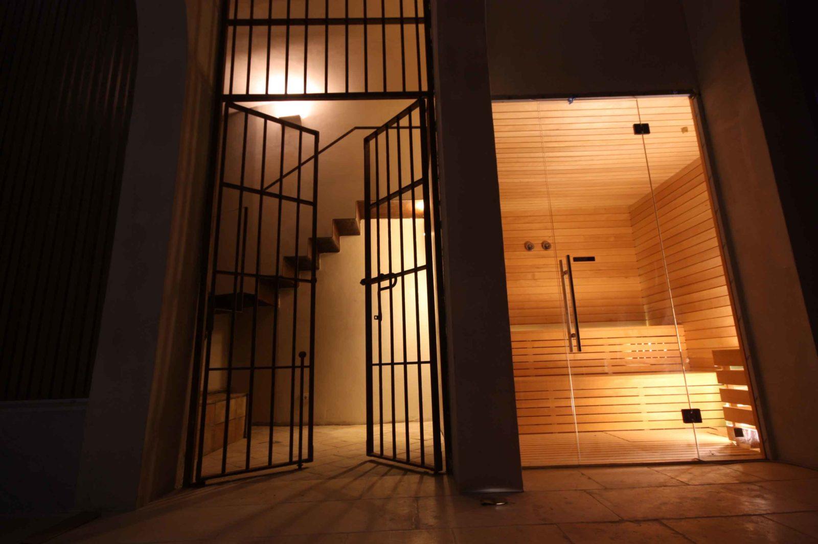 Castello Ducale Colonna sauna finlandese
