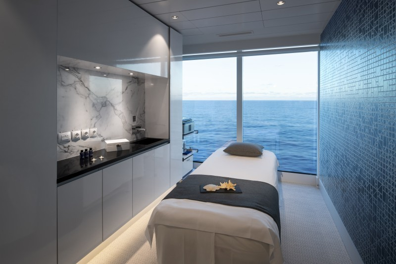 Celebrity Cruise Treatment Room
