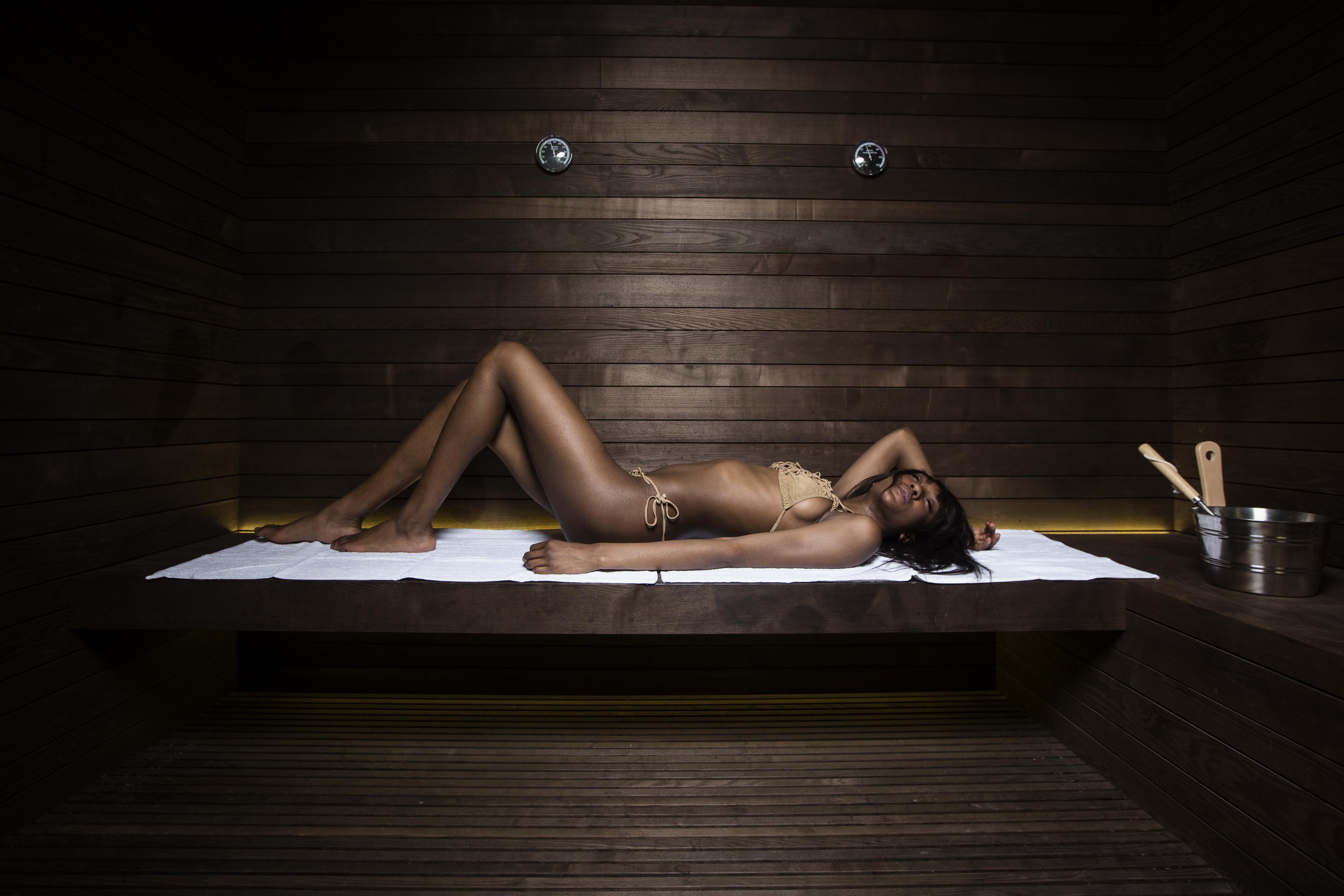 FONTE ALLA LEPRE Sauna in Frassino Termotrattato
