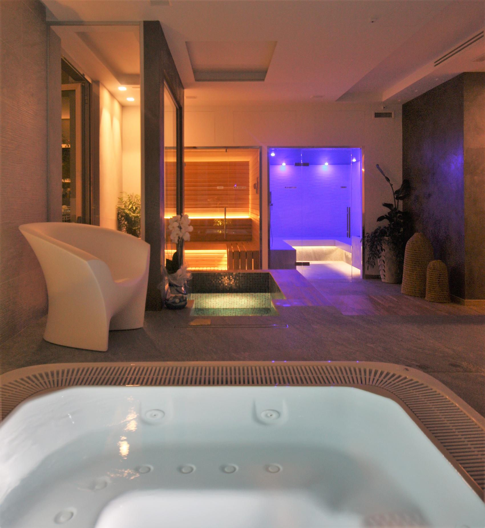 Hotel Morigi Bagno turco sauna finlandese Pozzo ghiacciato