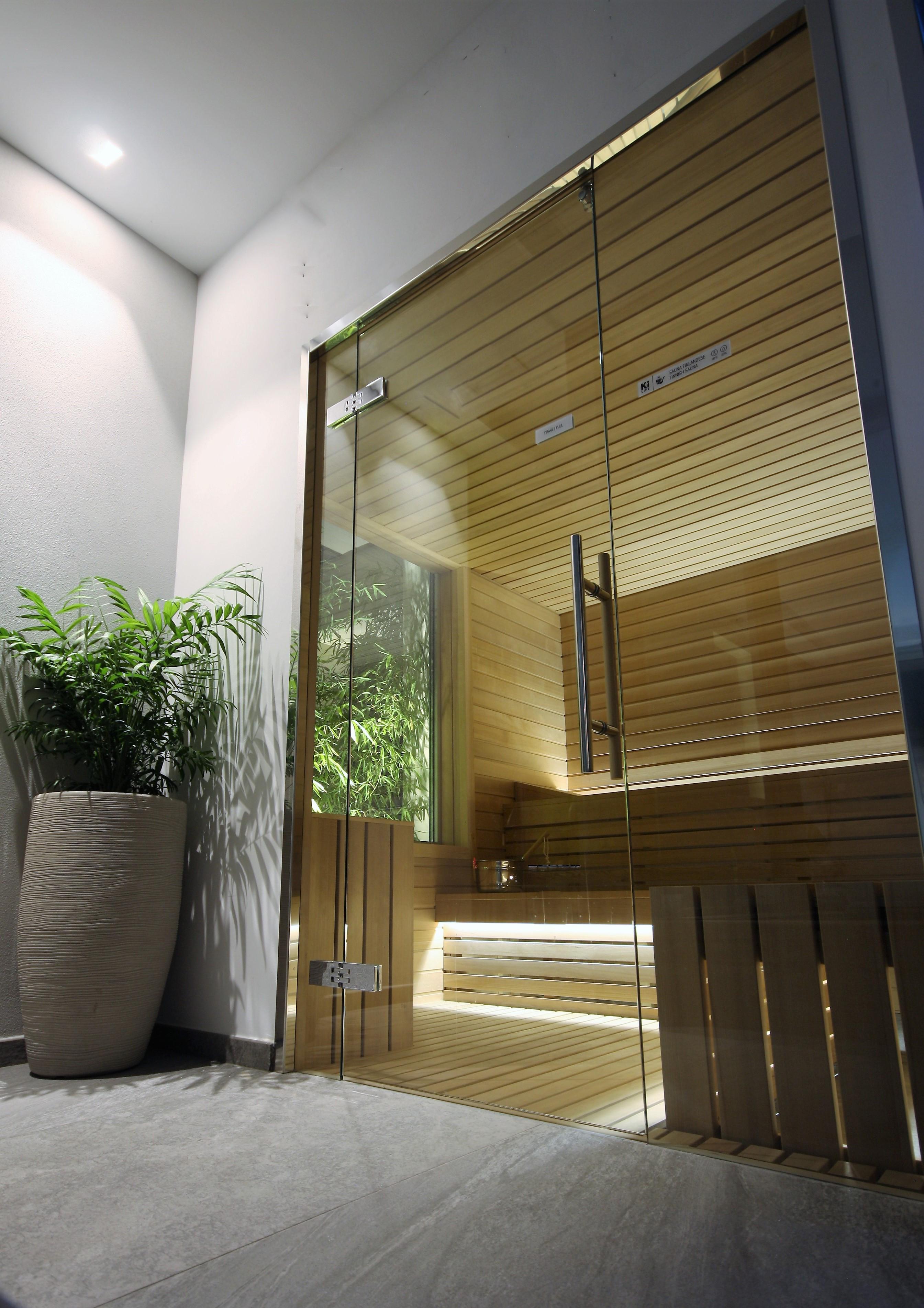 Hotel Morigi Bagno turco sauna finlandese portale vetrato