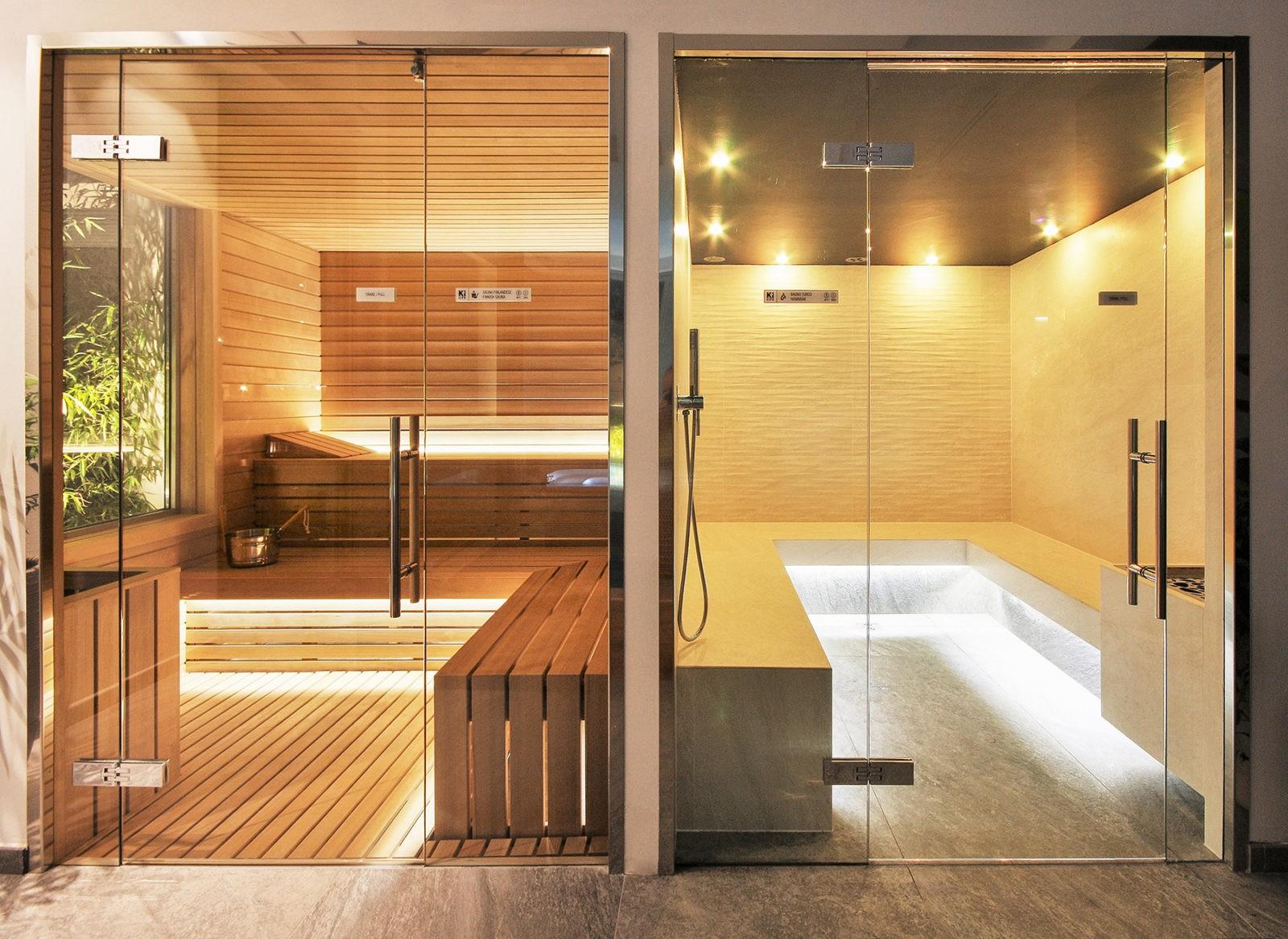 Hotel Morigi Bagno turco sauna finlandese