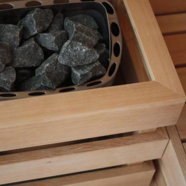 dettaglio sauna finladese