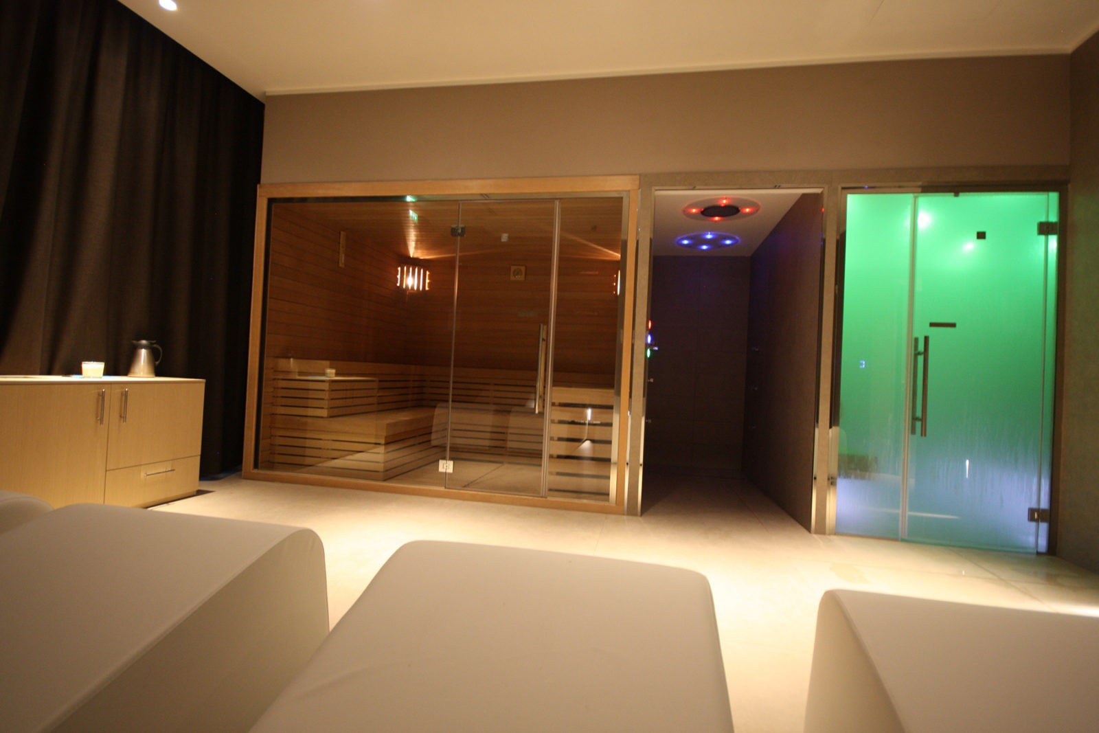 Palestra Blue Line area spa relax