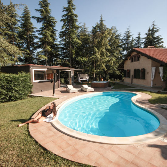 Private SPA piscina