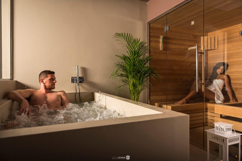 Villa Anitori suite SPA vasca Airpool Sauna