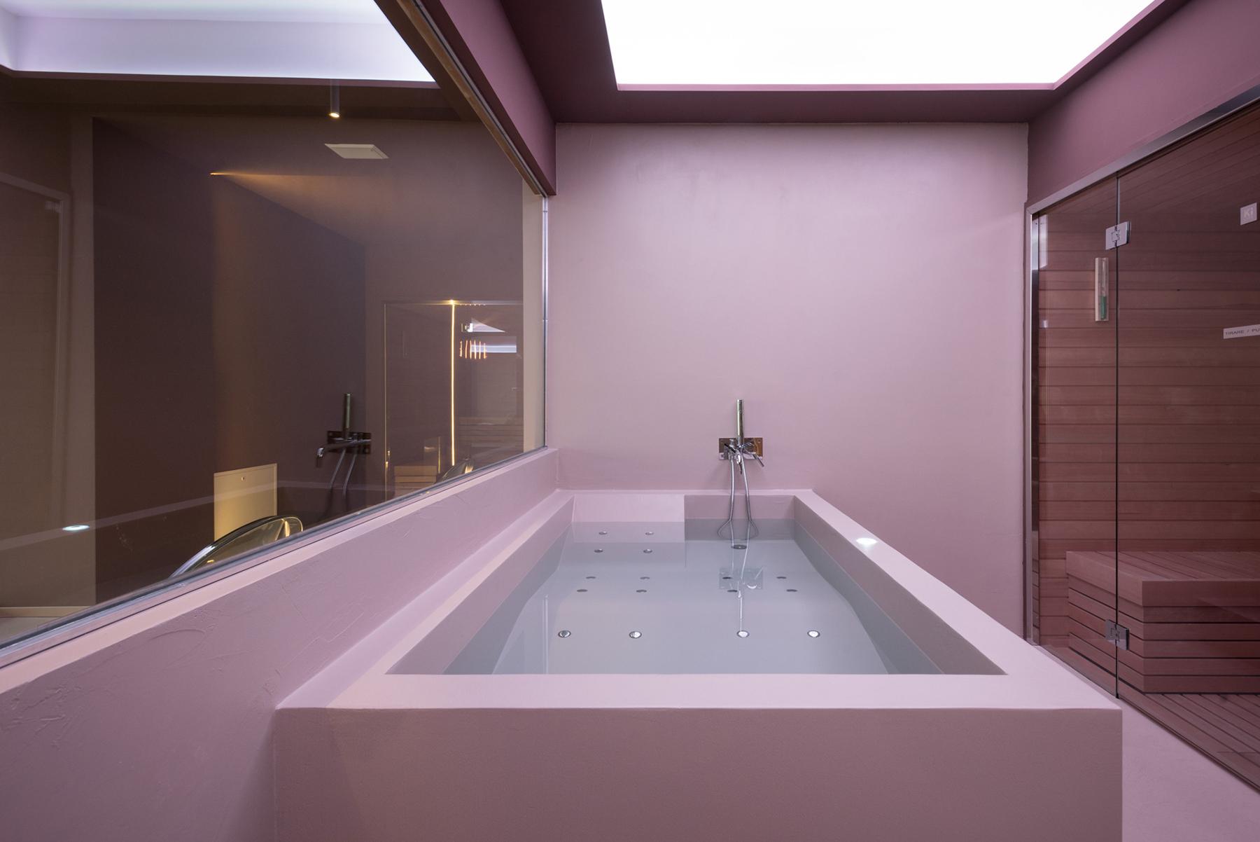 Villa Anitori vasca airpool Suite Spa