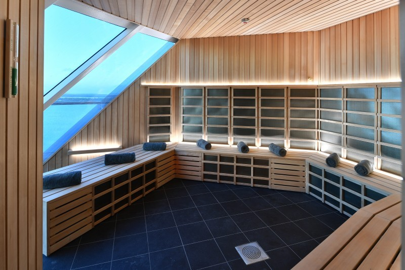 Celebrity cruise infra red sauna