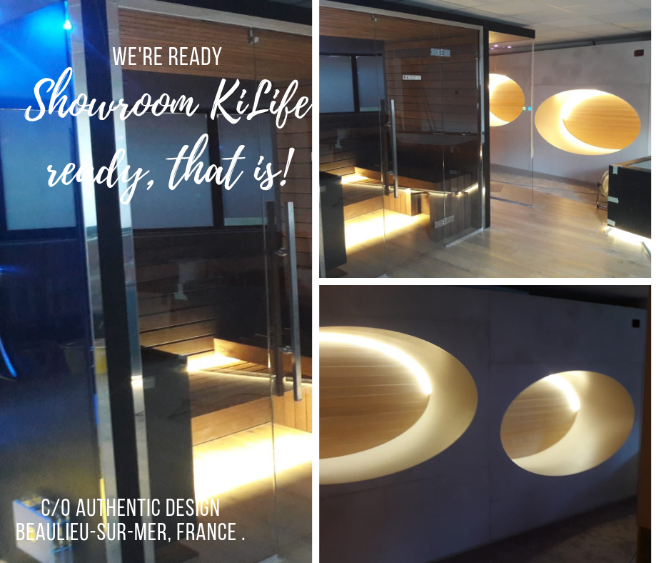 Showroom KiLife in Francia