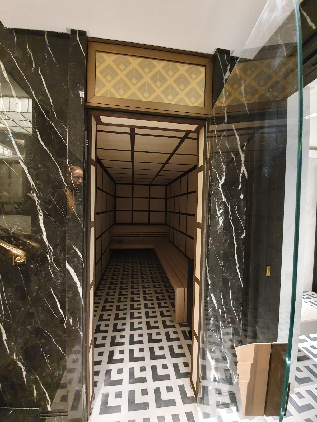 Sauna ad uso Residenziale