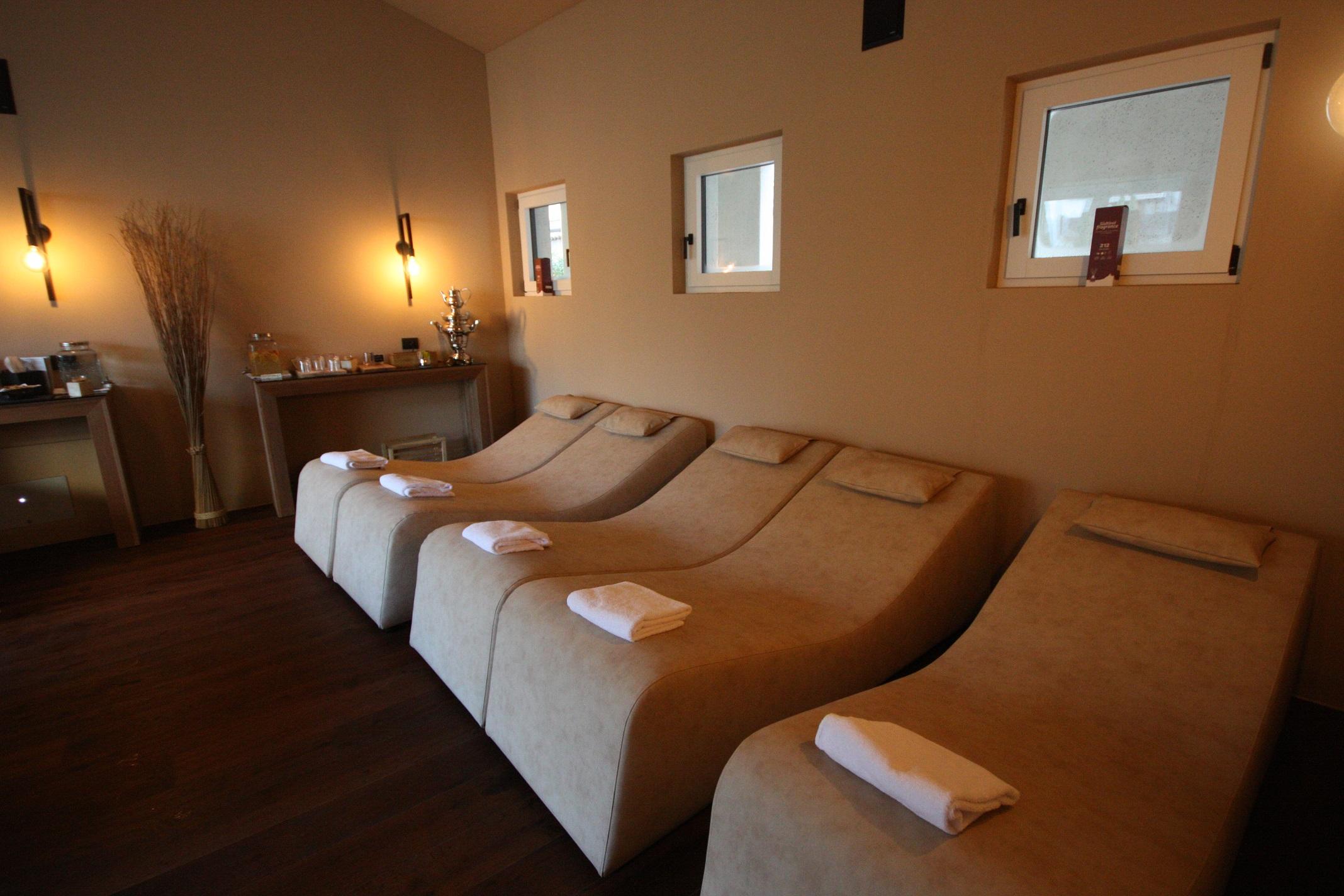 Lettini Relax per Spa e Centri Benessere