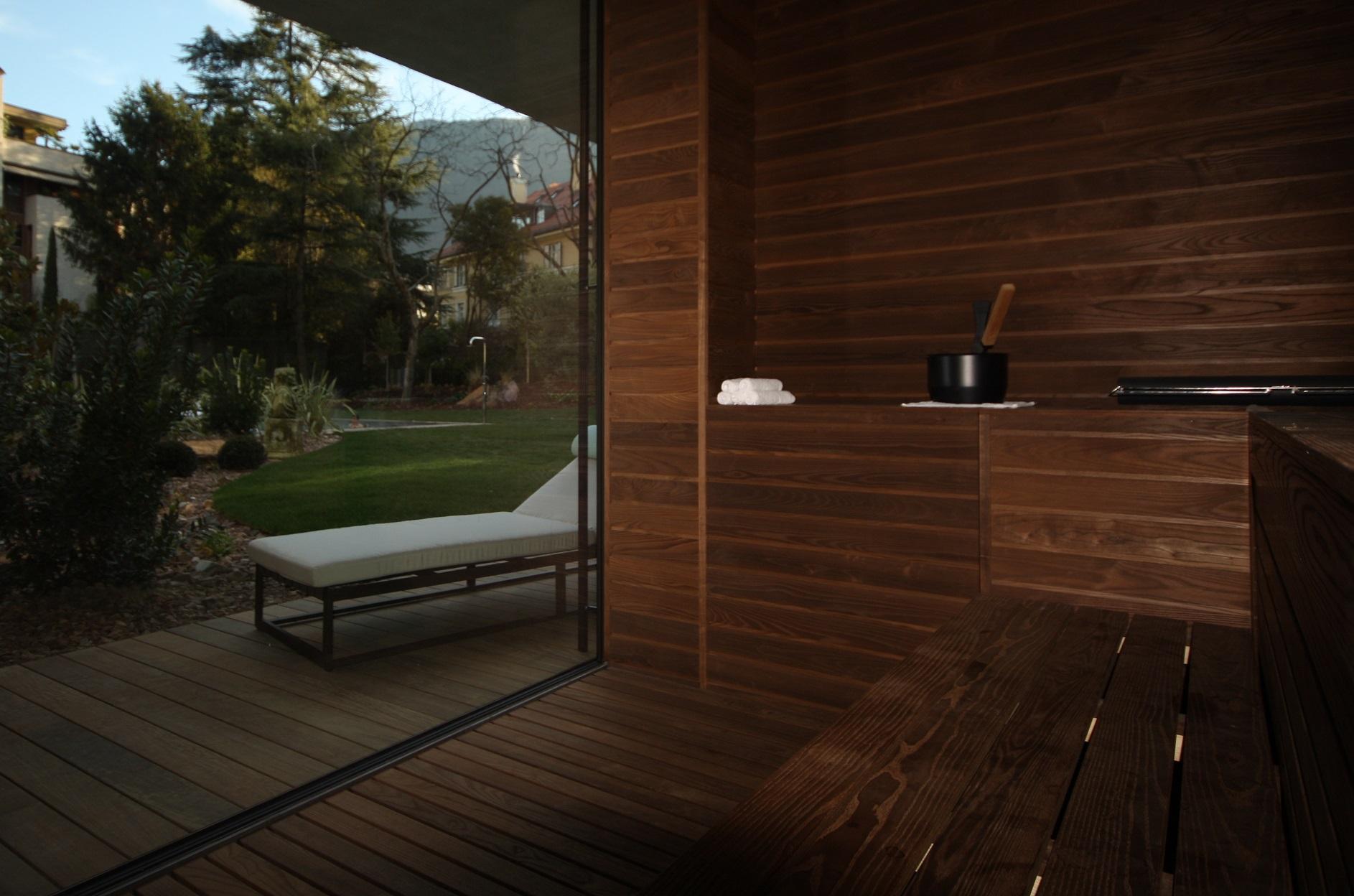 Sauna per Spa e Centri Benessere