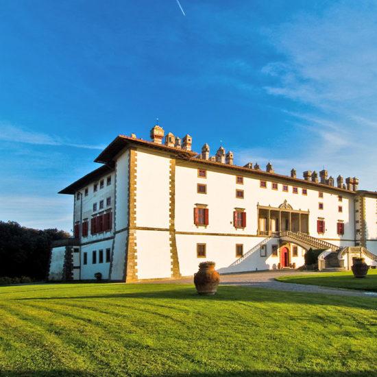 Esterno Villa Medicea La Ferdinanda