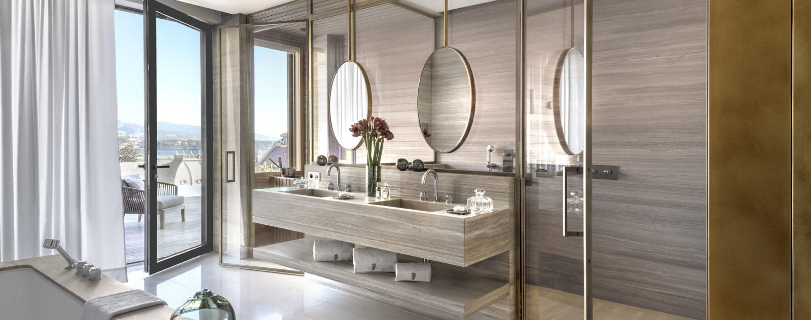 Hammam Sauna Hotel De Paris Bathroom Diamond Suite Montecarlo