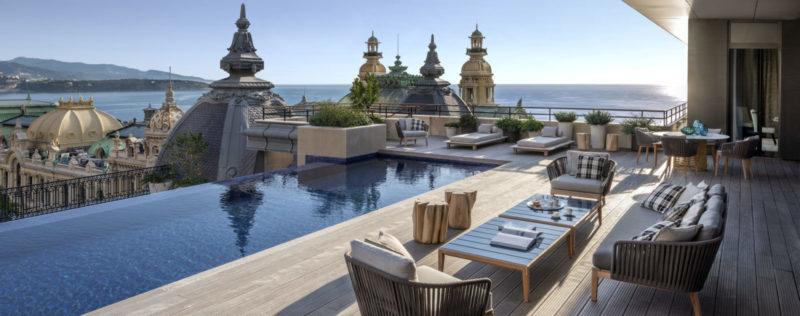 Piscina Terrazza Hotel De Paris Diamond Suite Montecarlo